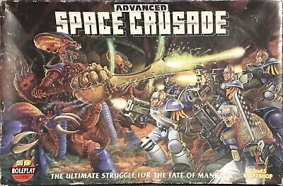 Advanced Space Crusade By Games Workshop (Complete) • 36£