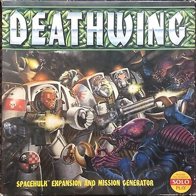Space Hulk 1st Edition Deathwing Expansion - Complete • 26£