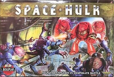 SPACE HULK Board Game COMPLETE 1st Edition Warhammer 40k Space Marines • 42£