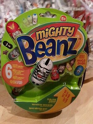 Mighty Beanz Series 1 Collectors Pack, 6 Beanz And Flyer, Brand New In Box • 8.99£