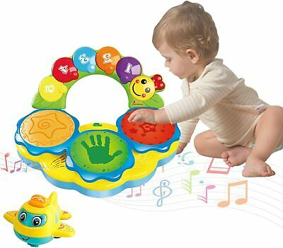 Portable Musical Drums Piano Instrument Baby Toys 6 To 12 Months...  • 26.39£