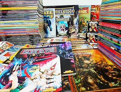 White Dwarf WD Issues Games Workshop Vintage Magazines UNCUT EXTRAS, Cards MORE • 33.95£