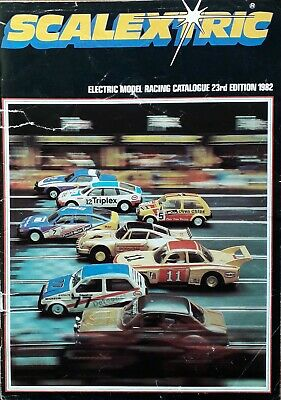 Scalextric Catalogue 23rd Edition 1982 • 3.20£