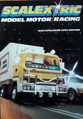 Scalextric Catalogue 24th Edition 1983 • 3.99£