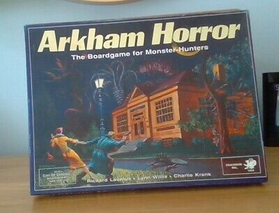 Arkham Horror Rare 1st Edition 1987 Vintage Role Playing Boardgame Chaosium Inc. • 51£