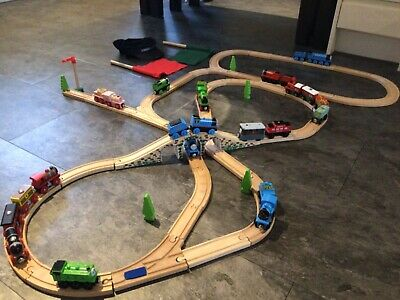 Thomas And Friends Bundle Of Brio And Bigjigs Trains And Track • 25£