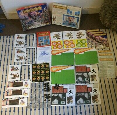 Warhammer : The Game Of Fantasy Battles : 4th Edition : Incomplete:  Used : 1992 • 15£