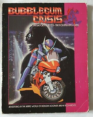 Complete Bubblegum Crisis Roleplaying Game - R.talsorian Games Rpg  • 7.70£