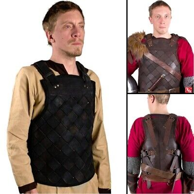 Viking Leather Body Armour, Ideal For Costume Or LARP Events • 91£