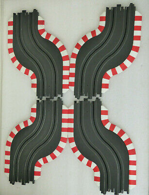 TOMY AFX Curves 2x Chicane Sets + Borders Track Spares • 10£