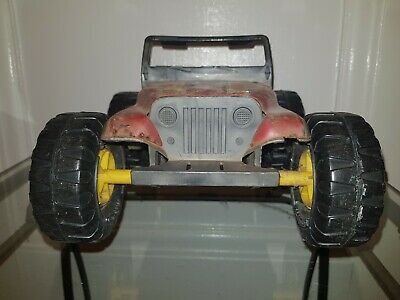 Tonka Truck Vintage 80s Toy Red Rare  • 0.99£