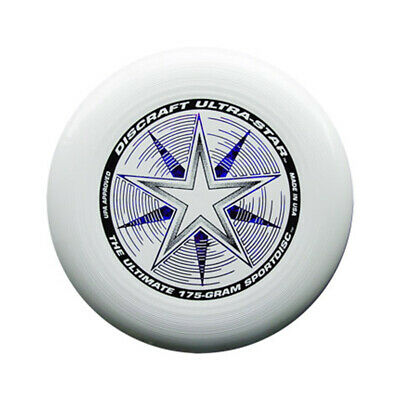 Discraft Ultra Star 175g Ultimate Flying Disc Frisbee - White • 10.95£