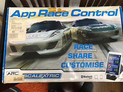 Scalextric Arc One App Race Control Bluetooth Boxed Set. 1/32 Scale C1329 • 55£