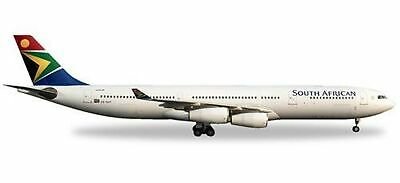 Herpa 530712South African Airways Airbus A340300–ZS/SXF Mandela Day • 95.29£