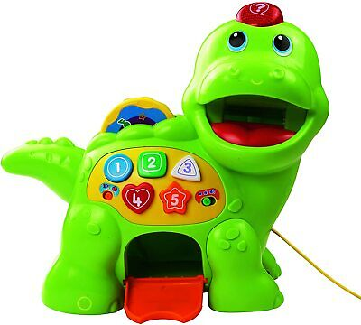 VTech Baby Feed Me Dino | Musical Toy With Numbers, Counting Music Green  • 64.79£