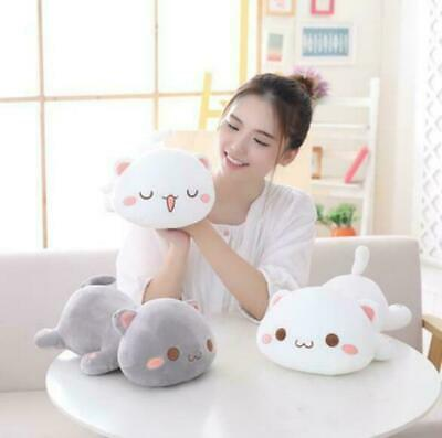 Lovely Animal Kids Holiday Gift Kawaii Lying Cat Plush Toy Stuffed Cute Cat Doll • 24.88£