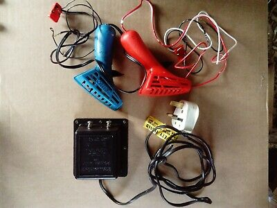Vintage Scalextric Original Power Supply And 2 Controllers • 7.50£
