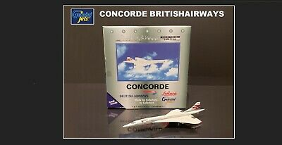 GEMINI JETS Concorde British Airways 1:400 Scale • 29.99£