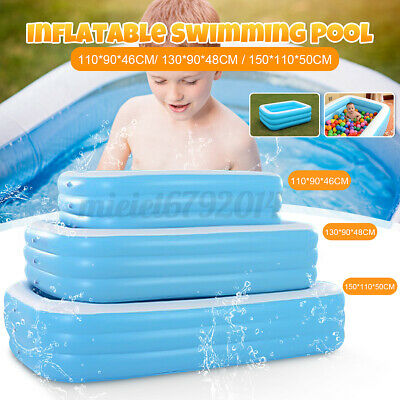 Inflatable Adult Kid Family Garden Outdoor Garden Swimming Pool Toddler Paddling • 12.29£