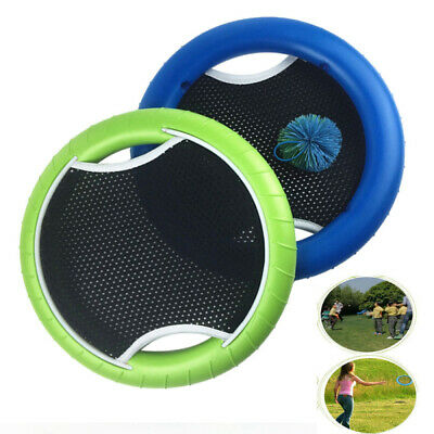 Outdoor Sports Slap Ball Flying Discs Creative Flying Disks Hand Trampoline&Ball • 11.63£