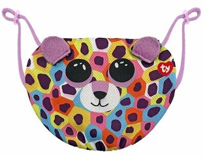 TY Giselle Leopard Face Mask Cover • 8.99£