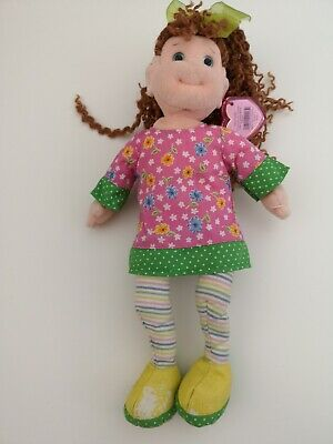 TY Beanie Boppers Doll With Covered Tag - Huggable Holly - Shoe Peel Wear • 5£