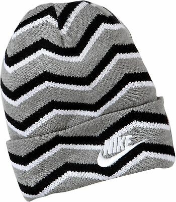 Nike Infants Kids Unisex Beanie Winter Woolly Hat Grey • 9.99£