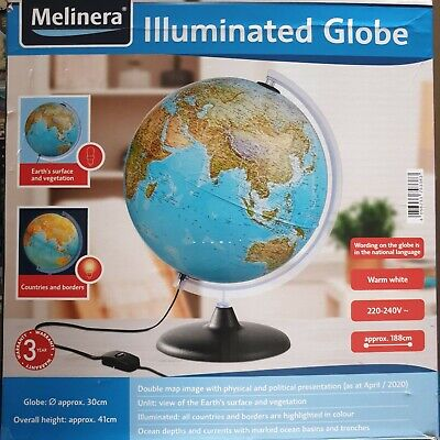 Melinera Illuminated Globe  • 17.99£