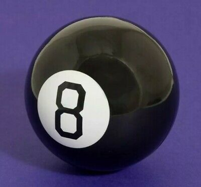 Retro Magic Mystic 8 Ball Decision Making Fortune Telling Cool Toy Gift Boxed • 6.99£