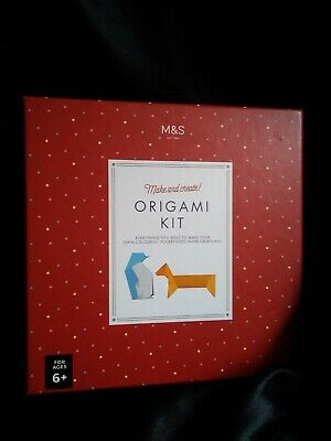 B) M&S Origami Set For Ages 6+ • 5£