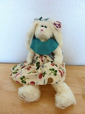 TY Large Attic Treasure Bloom The Bunny Rabbit Mwmts 12  Rare Retired • 14.95£