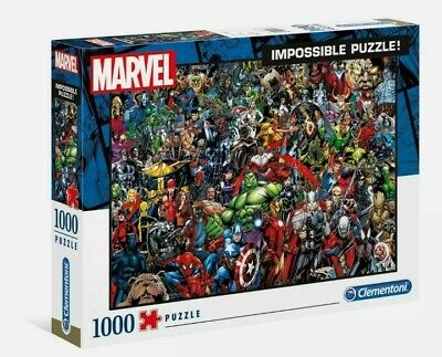Marvel Jigsaw Impossible Puzzle 1000 Pieces Free P&p  • 18.99£