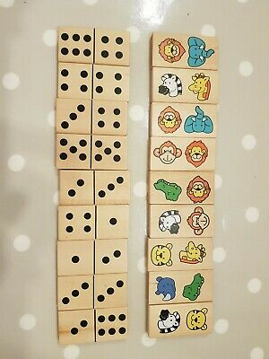 ELC Baby Double Sided Wooden Dominoes  • 2.99£