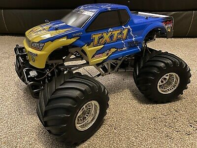 Tamiya 58280 TXT-1 4x4 1/8th Scale Electric Vintage Monster Truck With Electrics • 400£