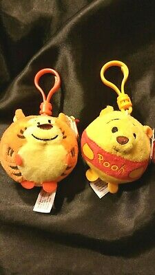 U1)  Tigger  And  Pooh  Beanie Ballz By TY From Disney • 4.25£