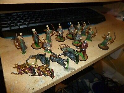 Heroclix Lord Of The Rings 18 Figures Off Of Bases Figures Only • 10£