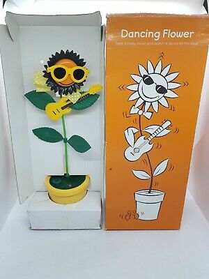 Vintage Takara Rock And 'n' Roll Flowers Dancing Sunflower Japan 80s Toy Boxed • 59.99£