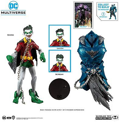 DC Multiverse Robin Earth-22 Dark Nights Metal 7  Inch Action Figure + BAF • 24.95£