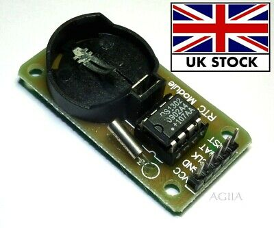 Sale New Arduino RTC DS1302 Real Time Clock Module For AVR ARM PIC SMD  • 2.80£