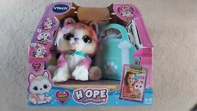 VTECH Hope The Rainbow Husky Toy Opened Not Used But In Box • 33.50£