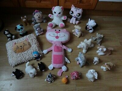 Bundle 25 X Plush CATS Soft Toys 18 Ins Long Max - Inc. Animagic Kittens • 5.99£