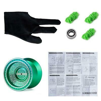 Beboo Professional Bearing L1 YoYo + 3 Strings + 1 Glove + 1 Bearing Green • 9.10£