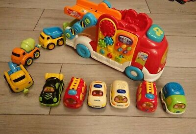 Vtech Toot Toot Cars, Truck Bundle And 3 ELC Cars • 10£