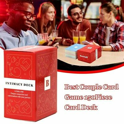 NEW Intimacy Deck By BestSelf Couple Board Game Card Full English Strategy Game • 9.49£