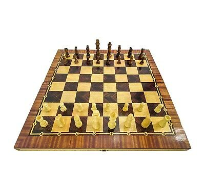 Chess Large Board Game  3 In 1 • 28£