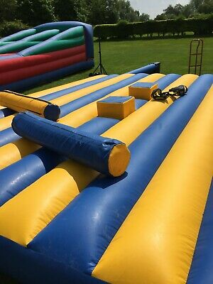 Adult Or Child Gladiator Duel Inflatable Bouncy Castle • 399£