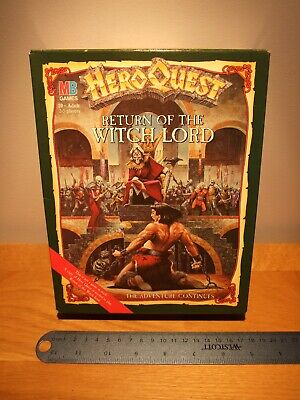 Heroquest Return Of The Witch Lord Extension Circa 1989 New In Opened Box • 100£
