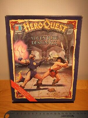 Heroquest Adventure Design Kit Circa 1990 New In Opened Box • 100£