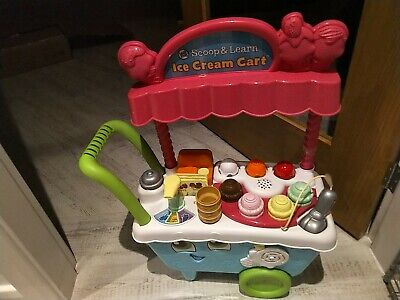 LeapFrog/ Leapster 600700 Scoop & Learn Ice Cream Cart • 7.80£