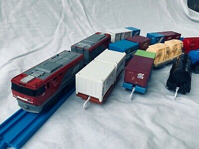 Takara Tomy S-25 EH500 Kintaro Freight Engine And Containers, Full Set.   • 45£
